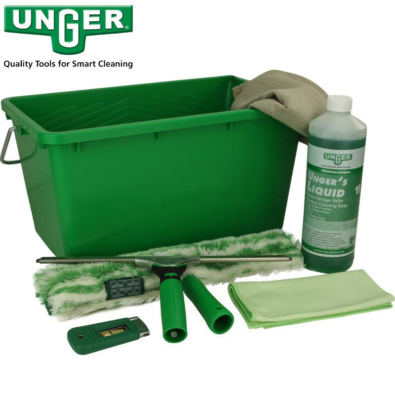 Unger Ergotec professional window cleaning kit