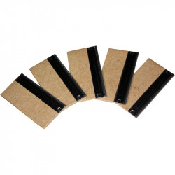 "Pack of 5 Scraper blade 1.5""/4cm"