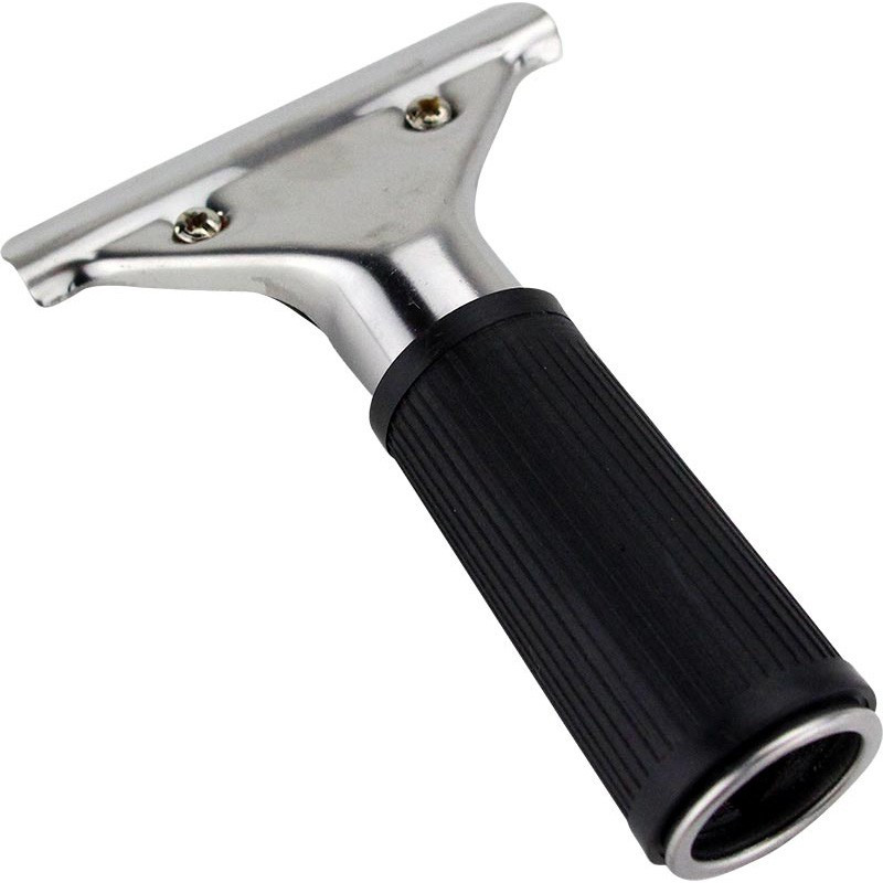 SPOTLESS S/Steel Squeegee Handle with rubber grip
