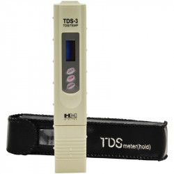 TDS meter with case with thermometer