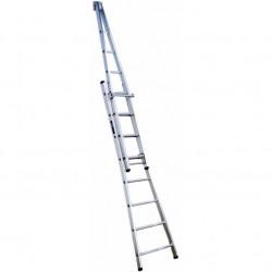 Aluminium Pointer Ladders double 2,55m/4.58m