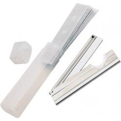 Lewi Trim Scraper holder 10cm + 10 blades in a case