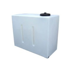 """650L Upright Baffled Tank with 1"""" Outlet in Base"""