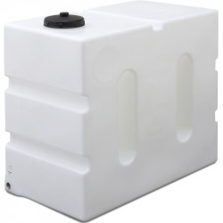 """800L Upright Baffled Tank with 1"""" Outlet in Base"""
