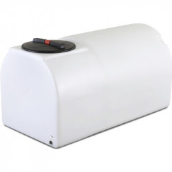 """900L low centre of gravity Baffled Tank 1"""" outlet"""