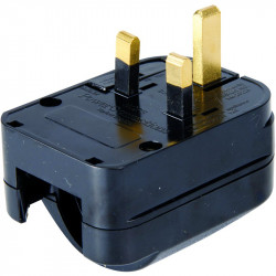 EU to UK Converter Plug Earthed (SCP3)