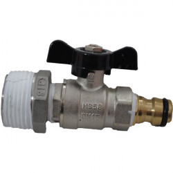 "Tank valve 1"" heavy duty"