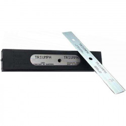 """Stainless Steel Blades (25) for all 6"""" Scrapers 0.15mm"""