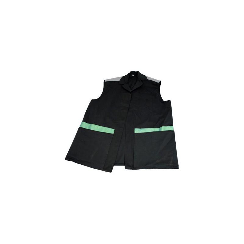 Window cleaning denim jacket with waterproof pockets