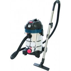 Wet & Dry Vacuum Cleaner with Power Take-Off 30Ltr 1250W