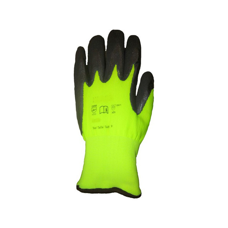 Winter Gloves Hi-Vis
