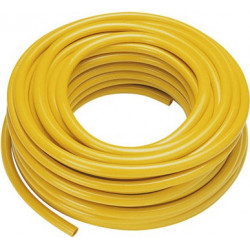 30m braided yellow hose 1/2""