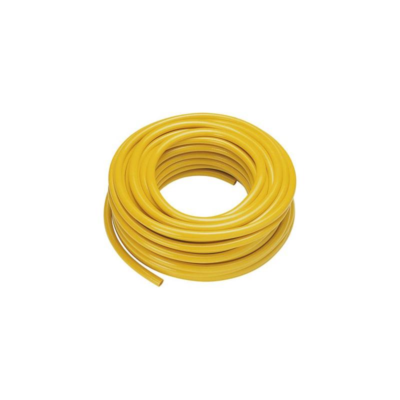 "30m braided yellow hose 1/2"""