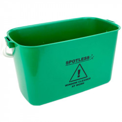 Oblong Bucket 9L Blue for Window Cleaning