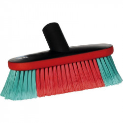 "Vikan 8"" flagged oval brush jetted"