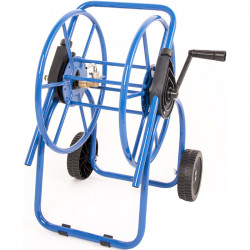 Blue Hose trolley folded