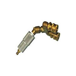 Powerpole Brass double nozzle connector