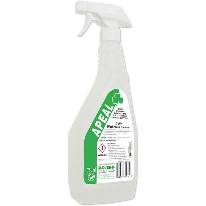 Clover Apeal Daily Washroom Cleaner RTU 750ml