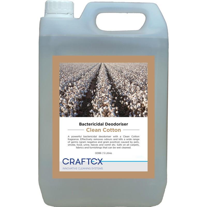 """Craftex Bactericidal Deodoriser """"Clean Cotton"""" 5L"""