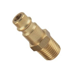 "HP hosetail with male 1/4"" thread"