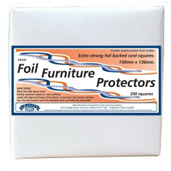 Extra Large Foil Furniture Protectors (Pack of 250 squares)