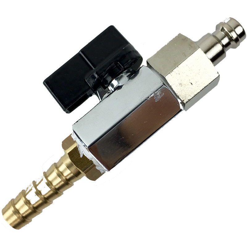 Mini Hosetail Connector Tap Assembly for Microbore (Short Handle)