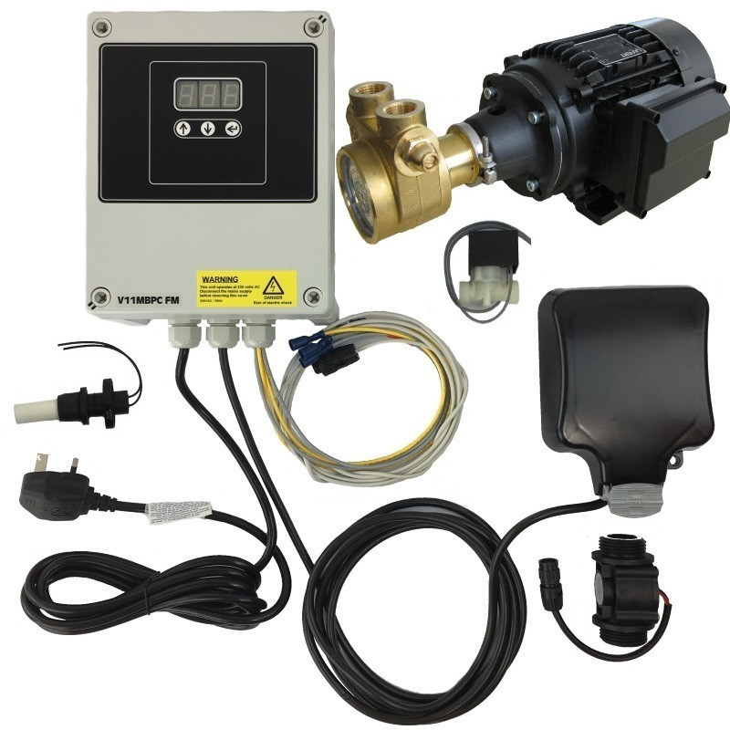 Booster pump and controller pack