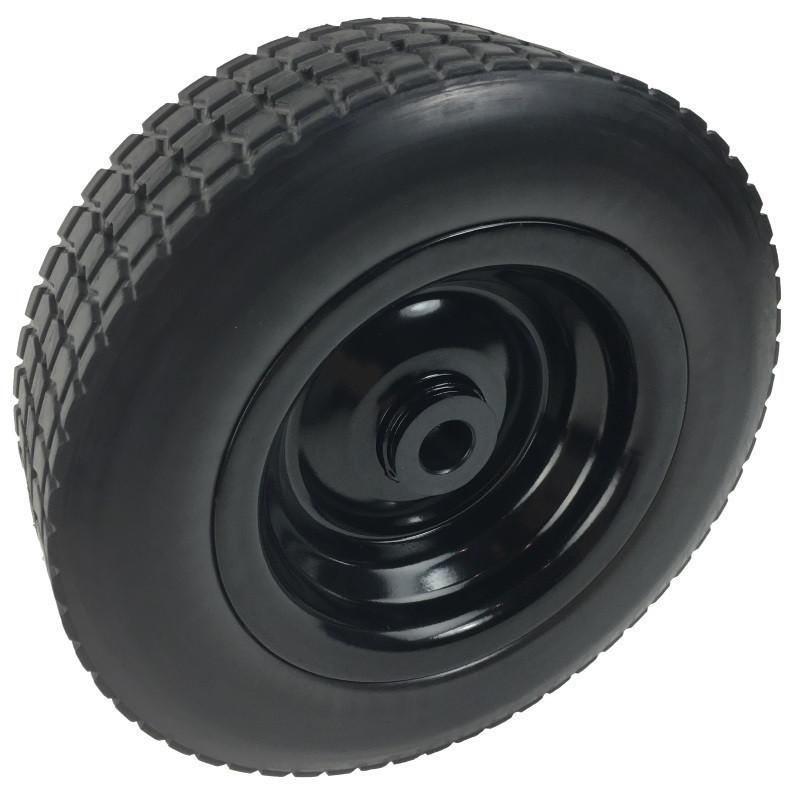 "Spare 10"" FOAM tyre"