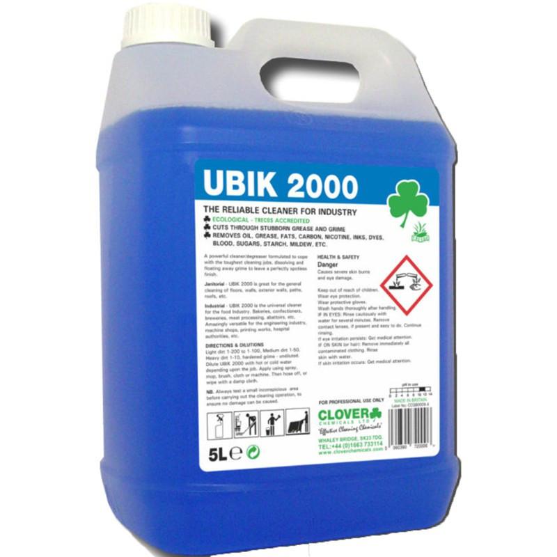 Clover UBIK 2000 Universal Cleaner Concentrate 5L