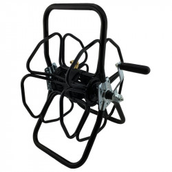 Metal freestanding hose reel