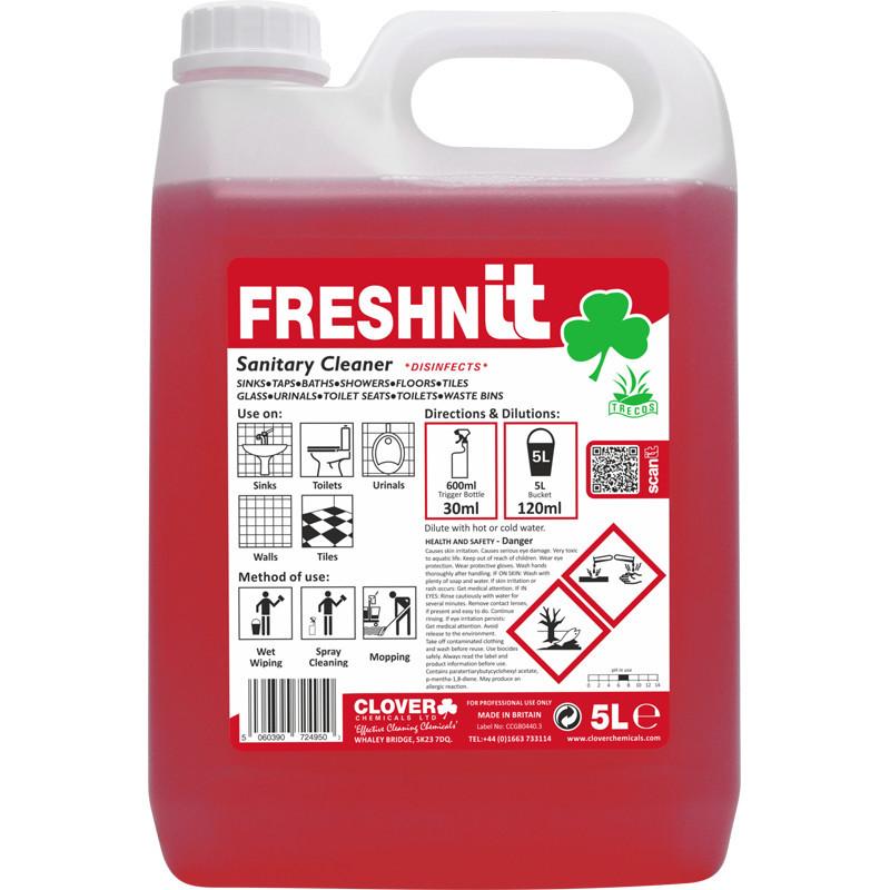 Clover FreshnIT Perfumed Sanitary Cleaner 5L