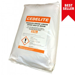25L Cedelite Premium mixed bed DI resin bag