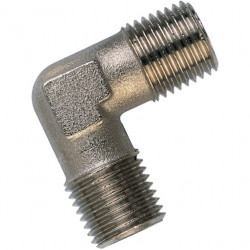 """1/2"""" male equal elbow brass..."""
