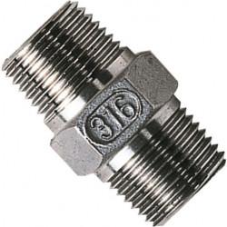 """Stainless Steel Hex Nipple 3/4"""""""