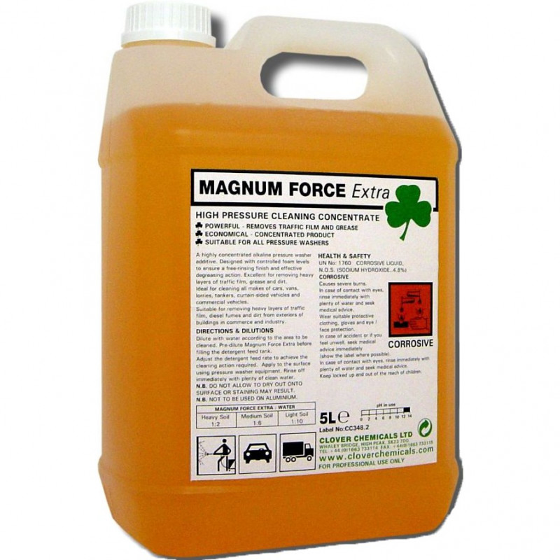 Clover Magnum Force extra 5L Traffic Film Remover Concentrate