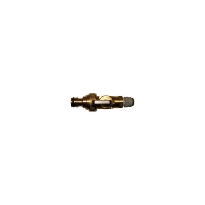 Brass Pole Flow control valve