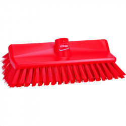 "Vikan 10"" Hi-Lo Windowsills Stiff Brush unjetted"