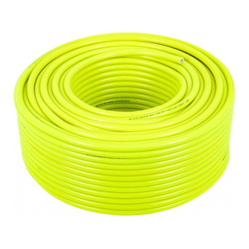 100m HIVIS Minibore Reinforced hose 13.5 x 8mm