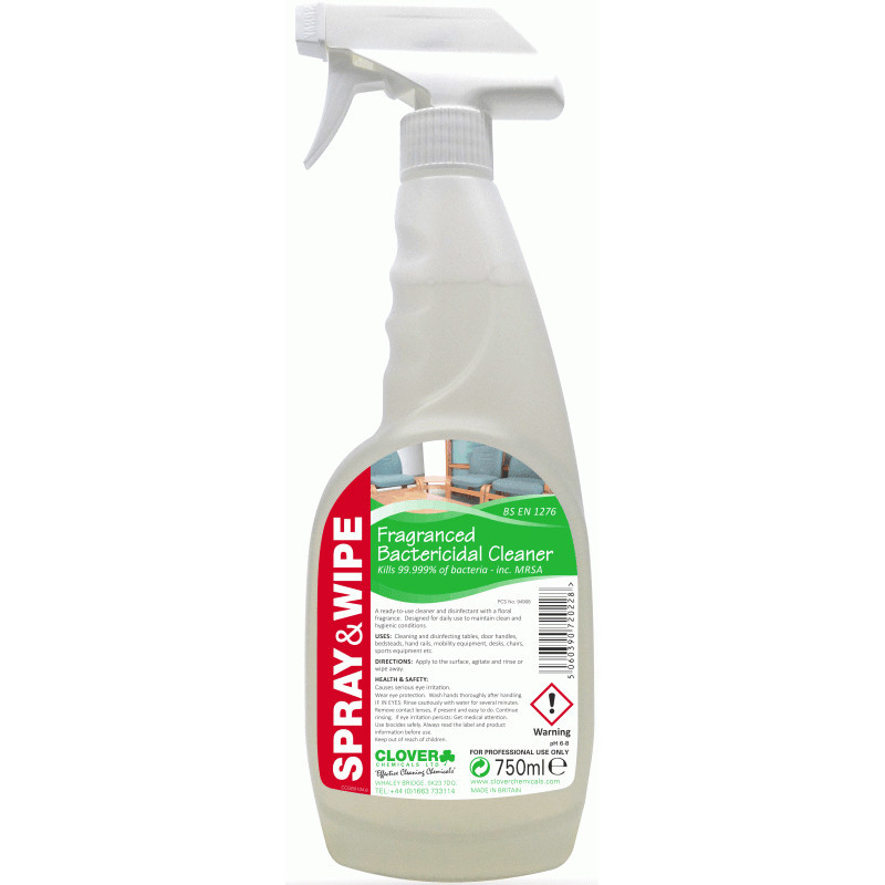 Clover Spray & wipe Fragrant Cleaner and Disinfectant