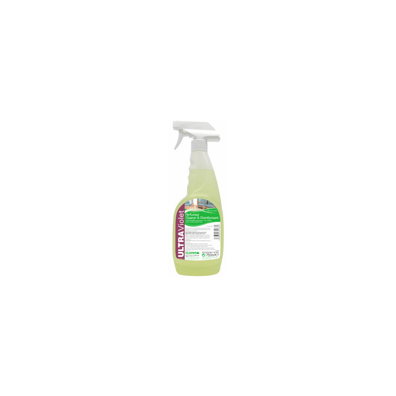 Clover Ultraviolet 'Ready to use' Perfumed Cleaner & Disinfectant