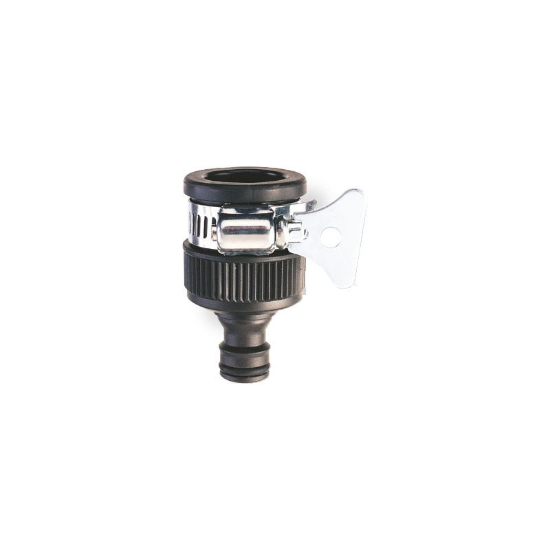 Round/Mixer Tap Connector 12-18 mm with clamp