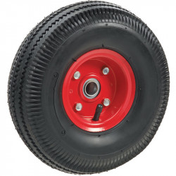 "Spare 10"" pneumatic tyre"