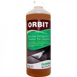 Clover Orbit Neutral Extraction Cleaner for Carpets 1L