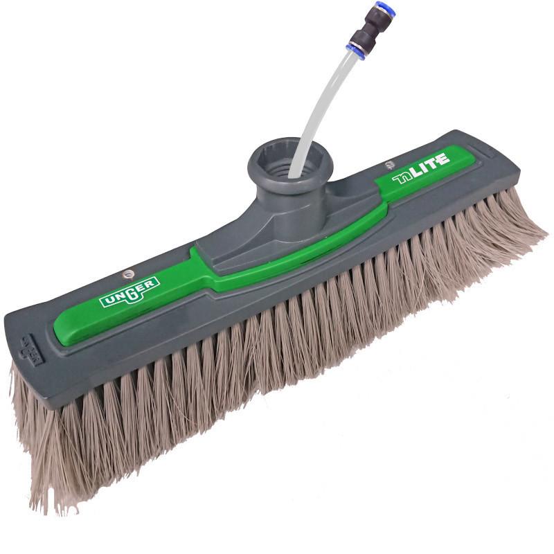 Unger nLite Power Brush Simple Grey 28cm