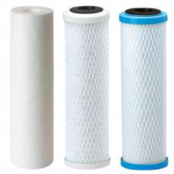 Eco Filter set: Sediment, Carbon, Premium Powder Activated carbon