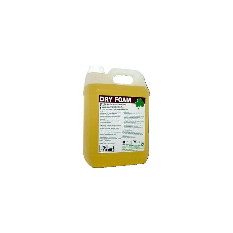 Clover Dry Foam Carpet Shampoo 5L