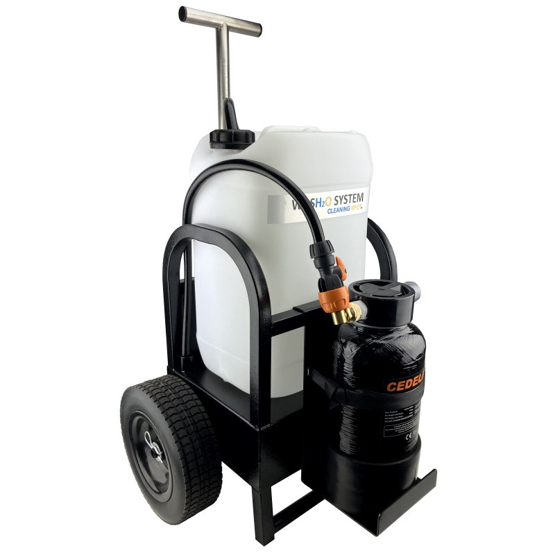 WASH2O Compact 25L Stainless Steel Trolley DI