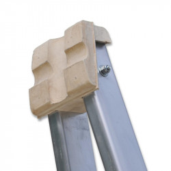 Replacement top block for pointer ladders