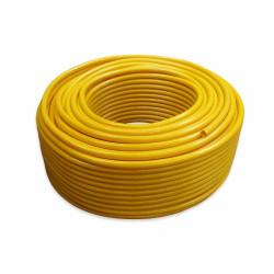 Yellow reinforced lightweight hose 5mm per meter