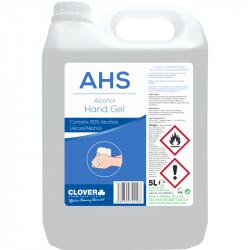 Clover AHS Alcohol Hand Sanitiser Gel 5L